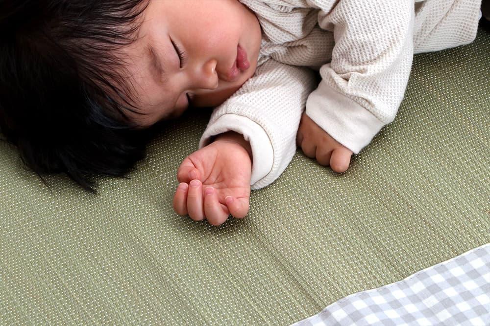 畳での子育て