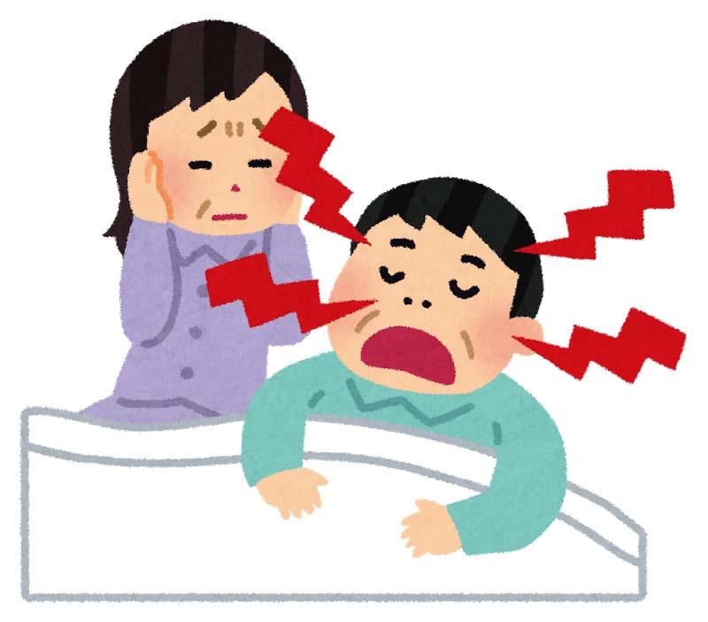 いびきと枕の関係